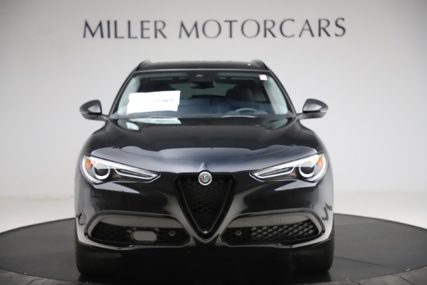 New 2020 Alfa Romeo Stelvio Ti Sport Q4 for sale $51,795 at Rolls-Royce Motor Cars Greenwich in Greenwich CT 06830 12