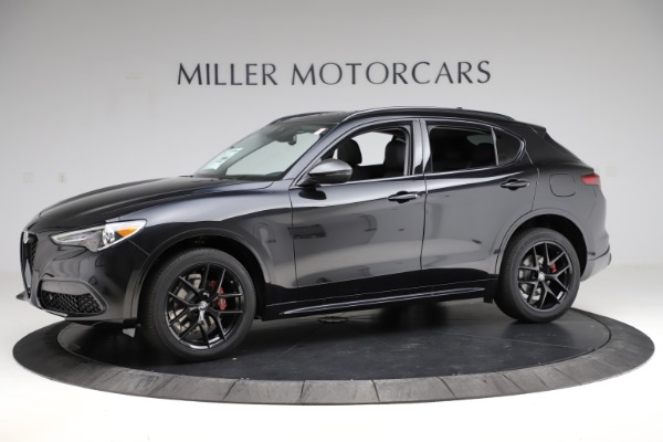 New 2020 Alfa Romeo Stelvio Ti Sport Q4 for sale $51,795 at Rolls-Royce Motor Cars Greenwich in Greenwich CT 06830 2