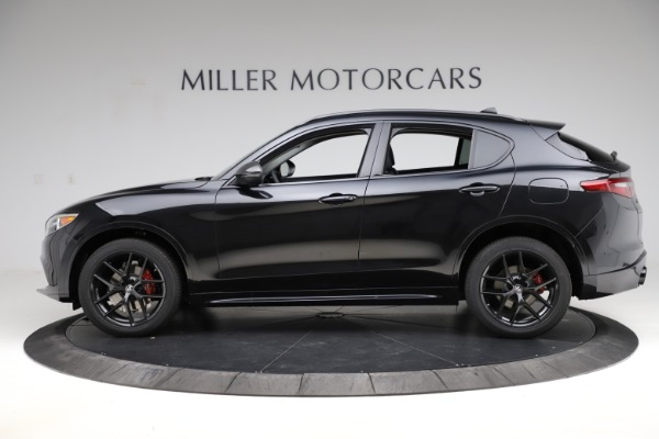 New 2020 Alfa Romeo Stelvio Ti Sport Q4 for sale $51,795 at Rolls-Royce Motor Cars Greenwich in Greenwich CT 06830 3