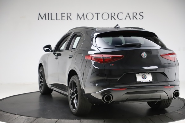 New 2020 Alfa Romeo Stelvio Ti Sport Q4 for sale $51,795 at Rolls-Royce Motor Cars Greenwich in Greenwich CT 06830 5
