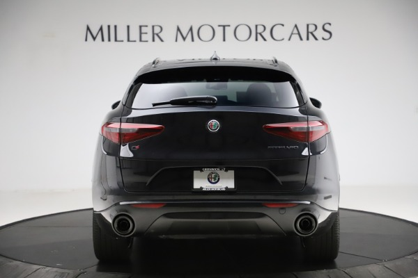 New 2020 Alfa Romeo Stelvio Ti Sport Q4 for sale $51,795 at Rolls-Royce Motor Cars Greenwich in Greenwich CT 06830 6