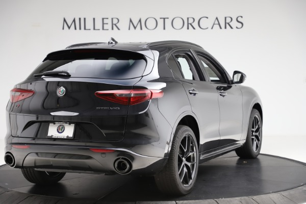New 2020 Alfa Romeo Stelvio Ti Sport Q4 for sale $51,795 at Rolls-Royce Motor Cars Greenwich in Greenwich CT 06830 7