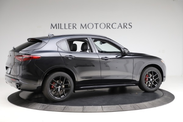 New 2020 Alfa Romeo Stelvio Ti Sport Q4 for sale $51,795 at Rolls-Royce Motor Cars Greenwich in Greenwich CT 06830 8