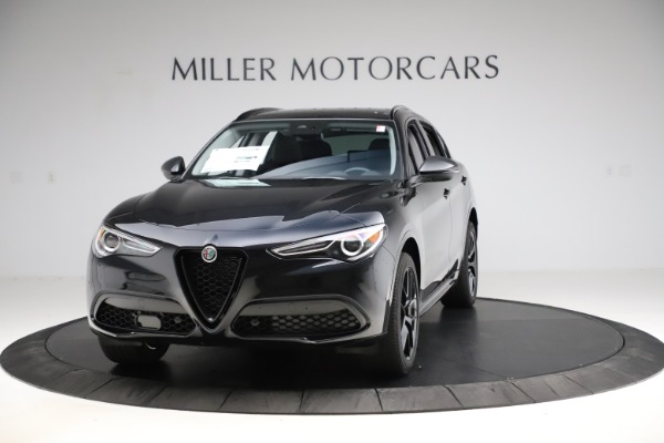 New 2020 Alfa Romeo Stelvio Ti Sport Q4 for sale $51,795 at Rolls-Royce Motor Cars Greenwich in Greenwich CT 06830 1