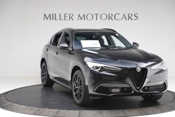 New 2020 Alfa Romeo Stelvio Ti Sport Q4 for sale $49,945 at Rolls-Royce Motor Cars Greenwich in Greenwich CT 06830 11