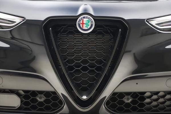 New 2020 Alfa Romeo Stelvio Ti Sport Q4 for sale $49,945 at Rolls-Royce Motor Cars Greenwich in Greenwich CT 06830 13