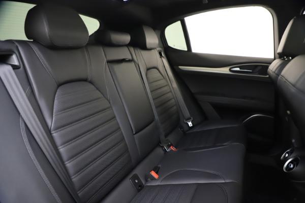 New 2020 Alfa Romeo Stelvio Ti Sport Q4 for sale $49,945 at Rolls-Royce Motor Cars Greenwich in Greenwich CT 06830 28