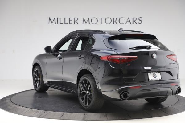 New 2020 Alfa Romeo Stelvio Ti Sport Q4 for sale $49,945 at Rolls-Royce Motor Cars Greenwich in Greenwich CT 06830 5