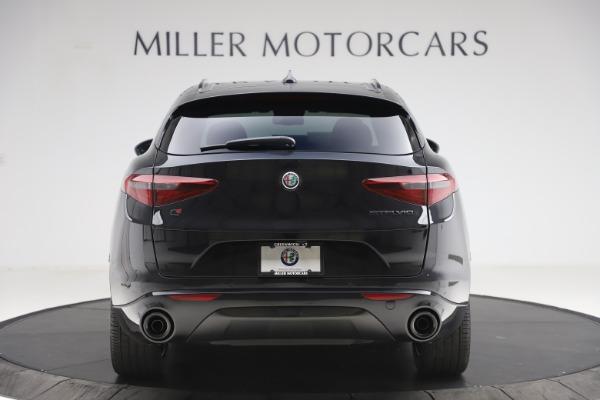 New 2020 Alfa Romeo Stelvio Ti Sport Q4 for sale $49,945 at Rolls-Royce Motor Cars Greenwich in Greenwich CT 06830 6