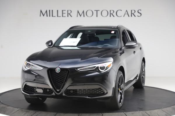 New 2020 Alfa Romeo Stelvio Ti Sport Q4 for sale $49,945 at Rolls-Royce Motor Cars Greenwich in Greenwich CT 06830 1