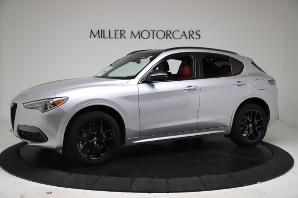 New 2021 Alfa Romeo Stelvio Ti Sport Q4 for sale $56,090 at Rolls-Royce Motor Cars Greenwich in Greenwich CT 06830 2