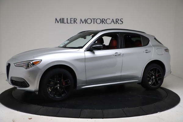 New 2021 Alfa Romeo Stelvio Ti Sport Q4 for sale Call for price at Rolls-Royce Motor Cars Greenwich in Greenwich CT 06830 2