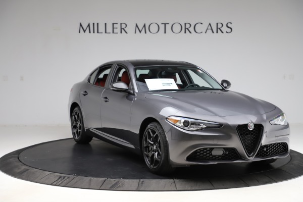 New 2021 Alfa Romeo Giulia Q4 for sale $48,035 at Rolls-Royce Motor Cars Greenwich in Greenwich CT 06830 11