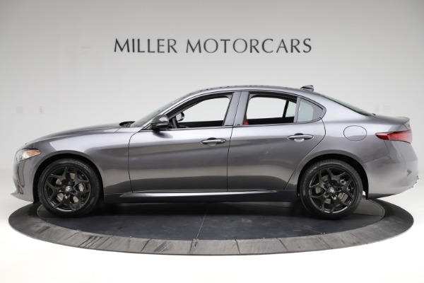 New 2021 Alfa Romeo Giulia Q4 for sale $48,035 at Rolls-Royce Motor Cars Greenwich in Greenwich CT 06830 3
