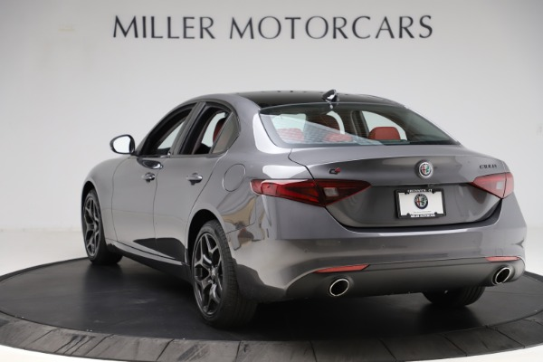 New 2021 Alfa Romeo Giulia Q4 for sale $48,035 at Rolls-Royce Motor Cars Greenwich in Greenwich CT 06830 5