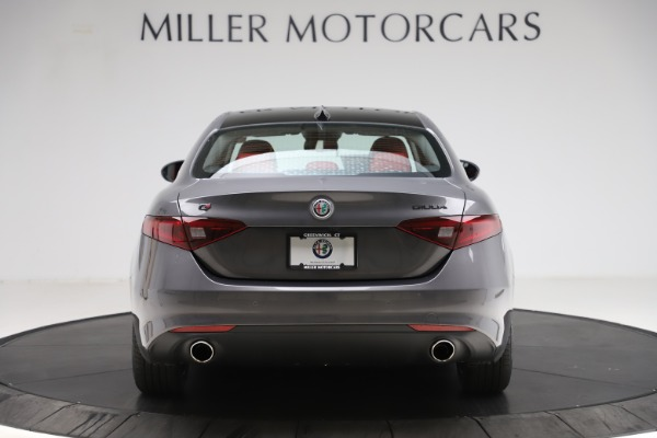 New 2021 Alfa Romeo Giulia Q4 for sale $48,035 at Rolls-Royce Motor Cars Greenwich in Greenwich CT 06830 6