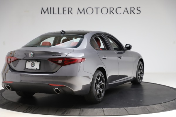 New 2021 Alfa Romeo Giulia Q4 for sale $48,035 at Rolls-Royce Motor Cars Greenwich in Greenwich CT 06830 7