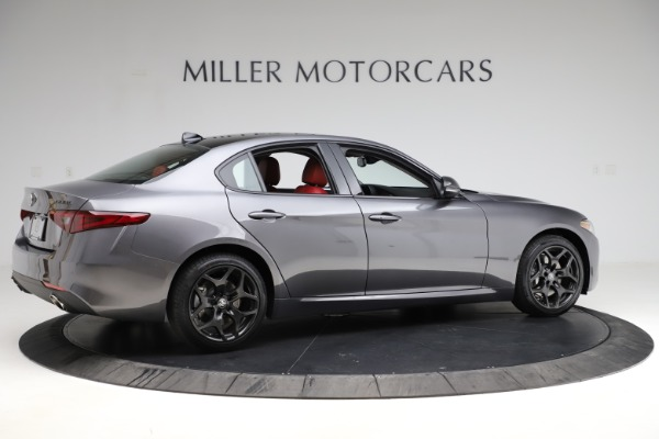 New 2021 Alfa Romeo Giulia Q4 for sale $48,035 at Rolls-Royce Motor Cars Greenwich in Greenwich CT 06830 8