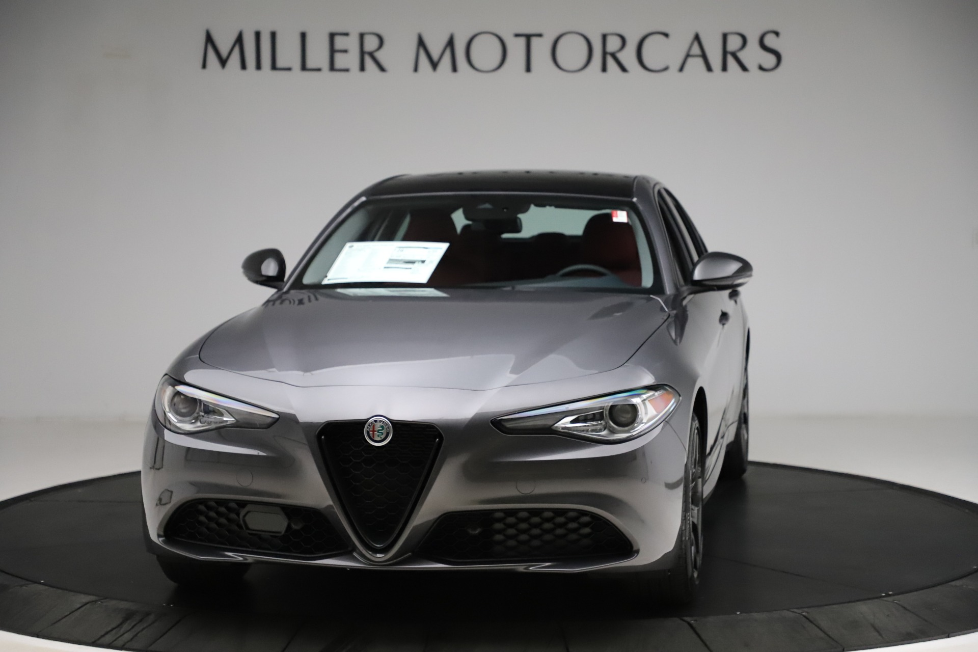 New 2021 Alfa Romeo Giulia Q4 for sale $48,035 at Rolls-Royce Motor Cars Greenwich in Greenwich CT 06830 1