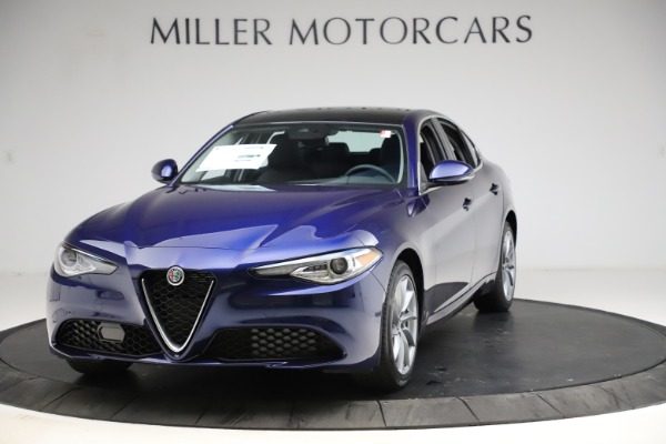 New 2021 Alfa Romeo Giulia Q4 for sale Call for price at Rolls-Royce Motor Cars Greenwich in Greenwich CT 06830 1