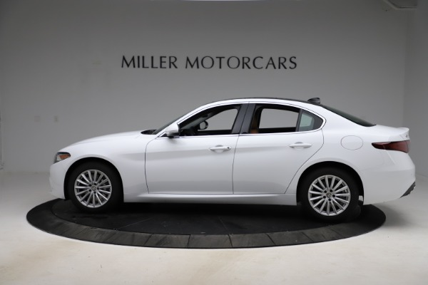 New 2021 Alfa Romeo Giulia Q4 for sale $45,735 at Rolls-Royce Motor Cars Greenwich in Greenwich CT 06830 3