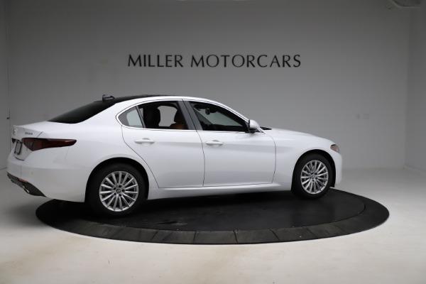 New 2021 Alfa Romeo Giulia Q4 for sale $45,735 at Rolls-Royce Motor Cars Greenwich in Greenwich CT 06830 8