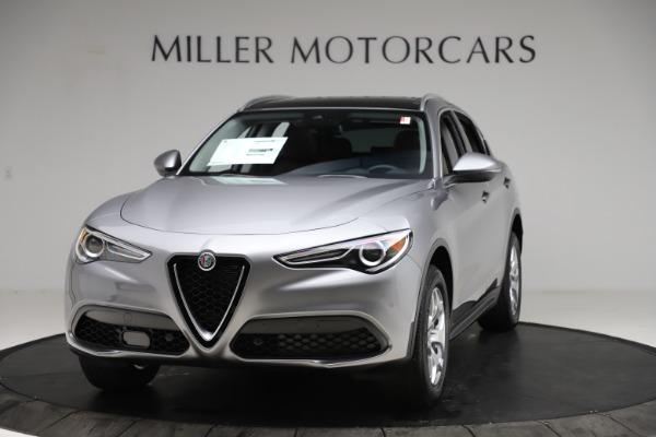 New 2021 Alfa Romeo Stelvio Q4 for sale $48,835 at Rolls-Royce Motor Cars Greenwich in Greenwich CT 06830 1