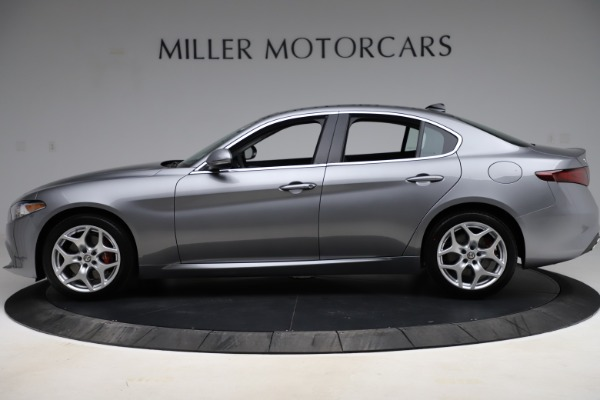 New 2021 Alfa Romeo Giulia Ti Q4 for sale Sold at Rolls-Royce Motor Cars Greenwich in Greenwich CT 06830 3