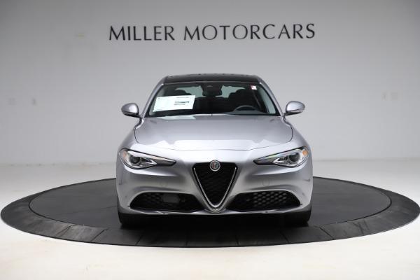 New 2021 Alfa Romeo Giulia Ti Q4 for sale Sold at Rolls-Royce Motor Cars Greenwich in Greenwich CT 06830 8