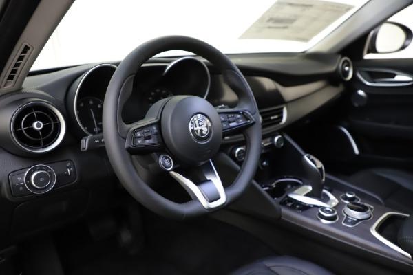 New 2021 Alfa Romeo Giulia Ti Q4 for sale Sold at Rolls-Royce Motor Cars Greenwich in Greenwich CT 06830 9