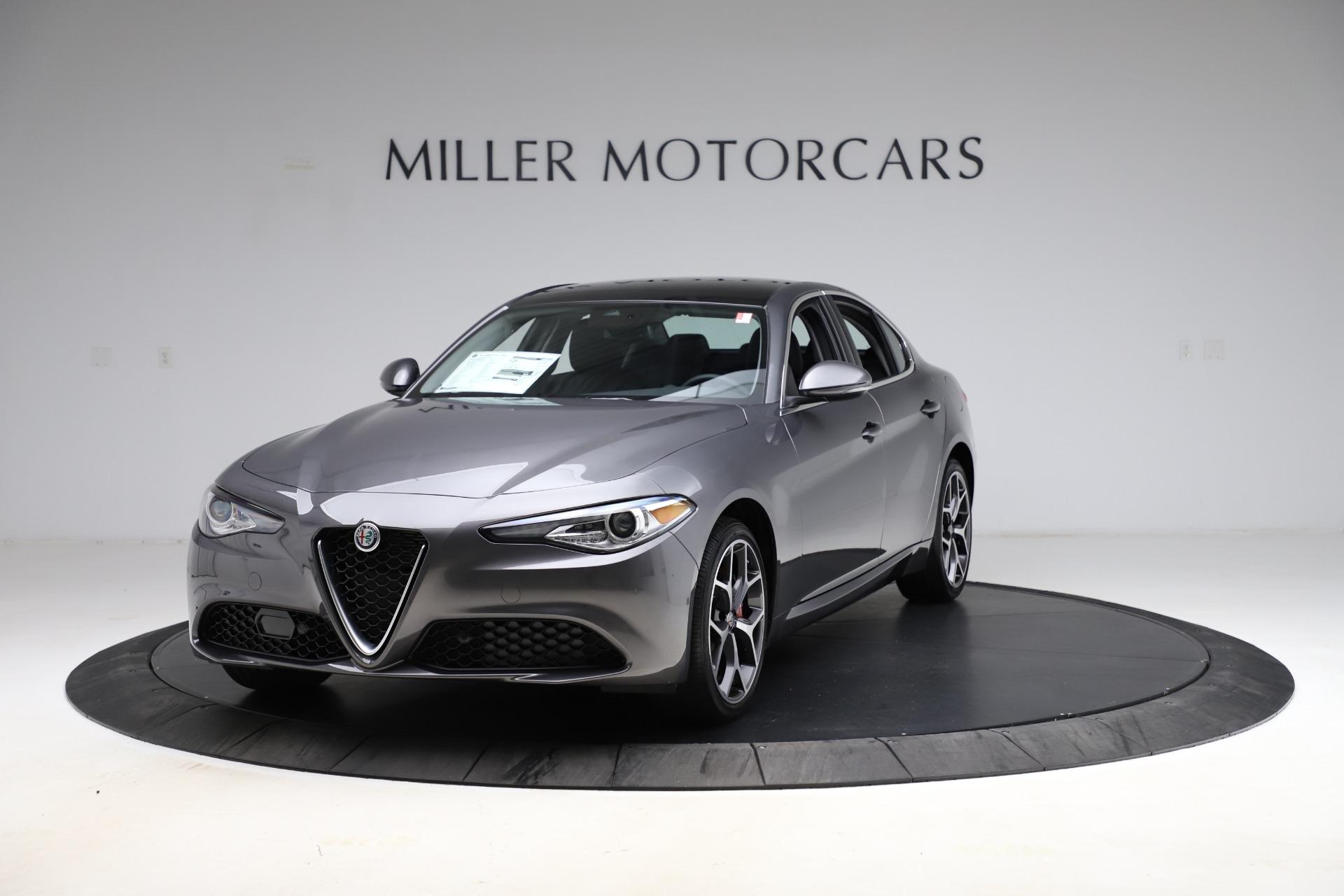 New 2021 Alfa Romeo Giulia Ti Q4 for sale $52,540 at Rolls-Royce Motor Cars Greenwich in Greenwich CT 06830 1
