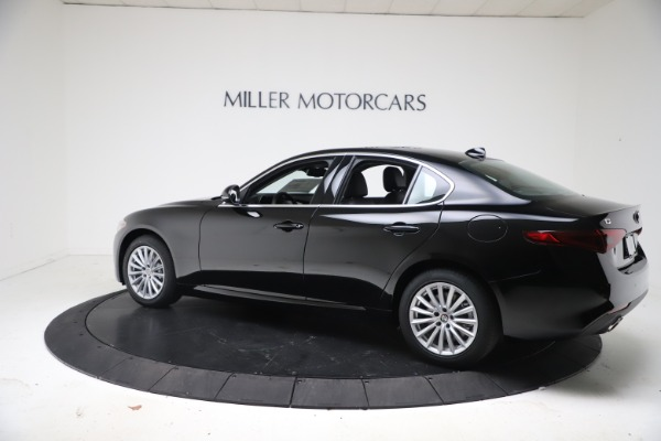 New 2021 Alfa Romeo Giulia Q4 for sale Call for price at Rolls-Royce Motor Cars Greenwich in Greenwich CT 06830 4