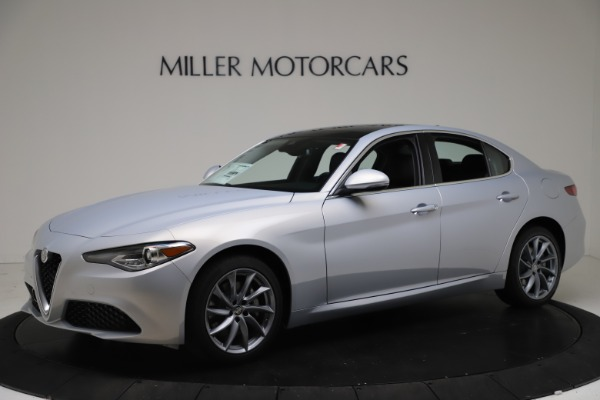 New 2021 Alfa Romeo Giulia Q4 for sale Call for price at Rolls-Royce Motor Cars Greenwich in Greenwich CT 06830 2
