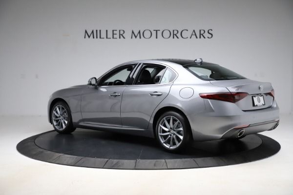 New 2021 Alfa Romeo Giulia Q4 for sale $47,085 at Rolls-Royce Motor Cars Greenwich in Greenwich CT 06830 4