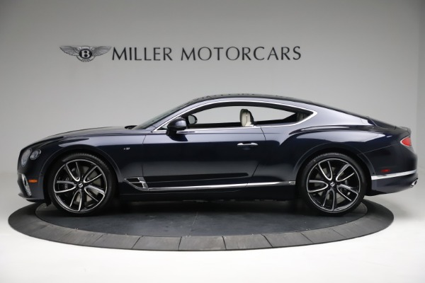 New 2021 Bentley Continental GT V8 for sale $260,310 at Rolls-Royce Motor Cars Greenwich in Greenwich CT 06830 2