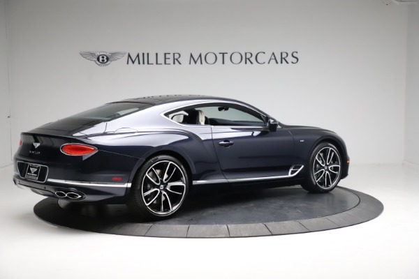 New 2021 Bentley Continental GT V8 for sale $260,310 at Rolls-Royce Motor Cars Greenwich in Greenwich CT 06830 7