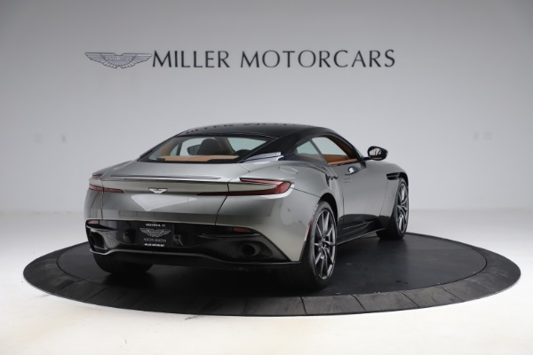 Used 2017 Aston Martin DB11 V12 Coupe for sale $134,900 at Rolls-Royce Motor Cars Greenwich in Greenwich CT 06830 6