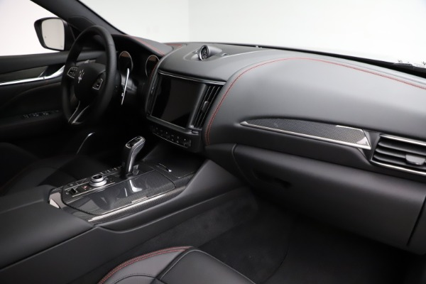 New 2021 Maserati Levante Q4 GranSport for sale $94,985 at Rolls-Royce Motor Cars Greenwich in Greenwich CT 06830 21