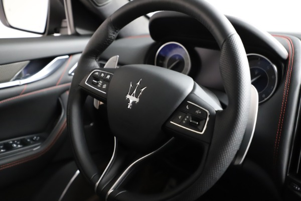 New 2021 Maserati Levante Q4 GranSport for sale $94,985 at Rolls-Royce Motor Cars Greenwich in Greenwich CT 06830 24