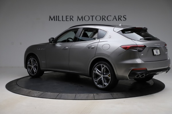 New 2021 Maserati Levante Q4 GranSport for sale $93,585 at Rolls-Royce Motor Cars Greenwich in Greenwich CT 06830 5
