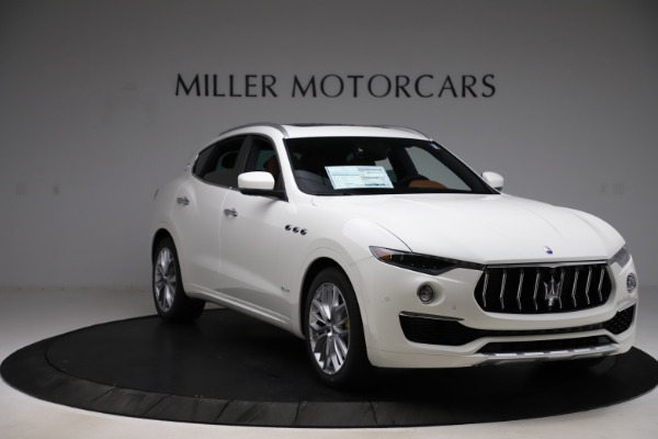 New 2021 Maserati Levante Q4 GranLusso for sale Sold at Rolls-Royce Motor Cars Greenwich in Greenwich CT 06830 11