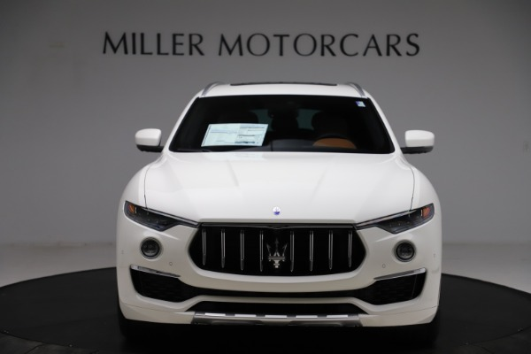 New 2021 Maserati Levante Q4 GranLusso for sale Sold at Rolls-Royce Motor Cars Greenwich in Greenwich CT 06830 12
