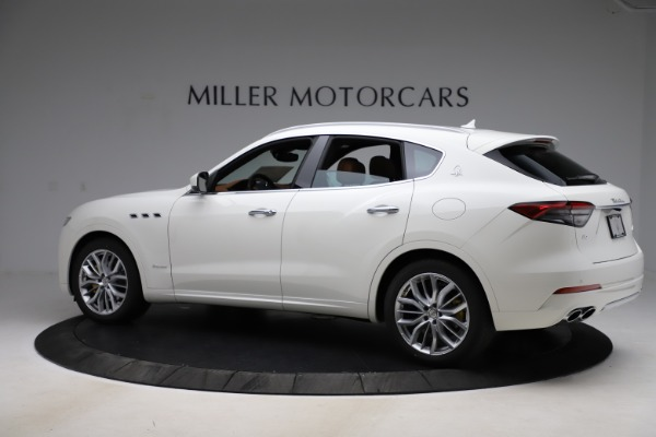 New 2021 Maserati Levante Q4 GranLusso for sale Sold at Rolls-Royce Motor Cars Greenwich in Greenwich CT 06830 4