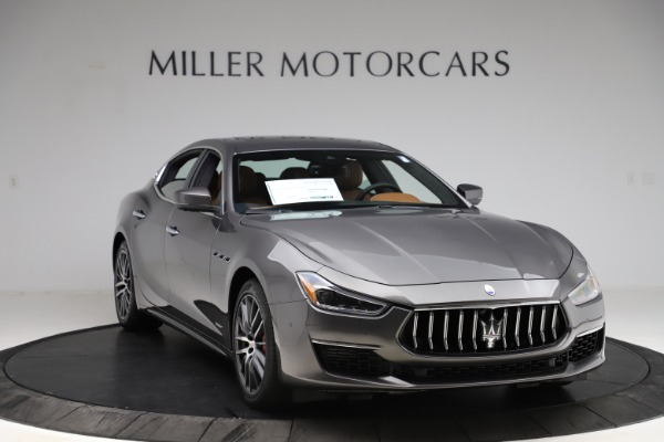 New 2021 Maserati Ghibli S Q4 GranLusso for sale Sold at Rolls-Royce Motor Cars Greenwich in Greenwich CT 06830 11