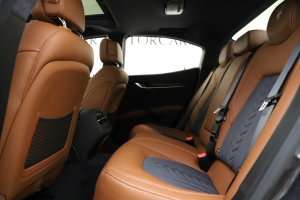 New 2021 Maserati Ghibli S Q4 GranLusso for sale Sold at Rolls-Royce Motor Cars Greenwich in Greenwich CT 06830 22