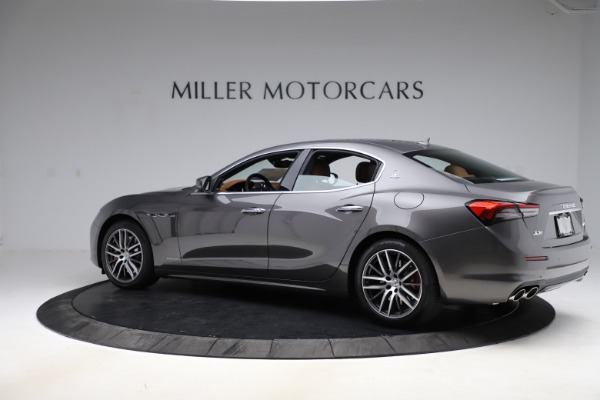 New 2021 Maserati Ghibli S Q4 GranLusso for sale Sold at Rolls-Royce Motor Cars Greenwich in Greenwich CT 06830 4