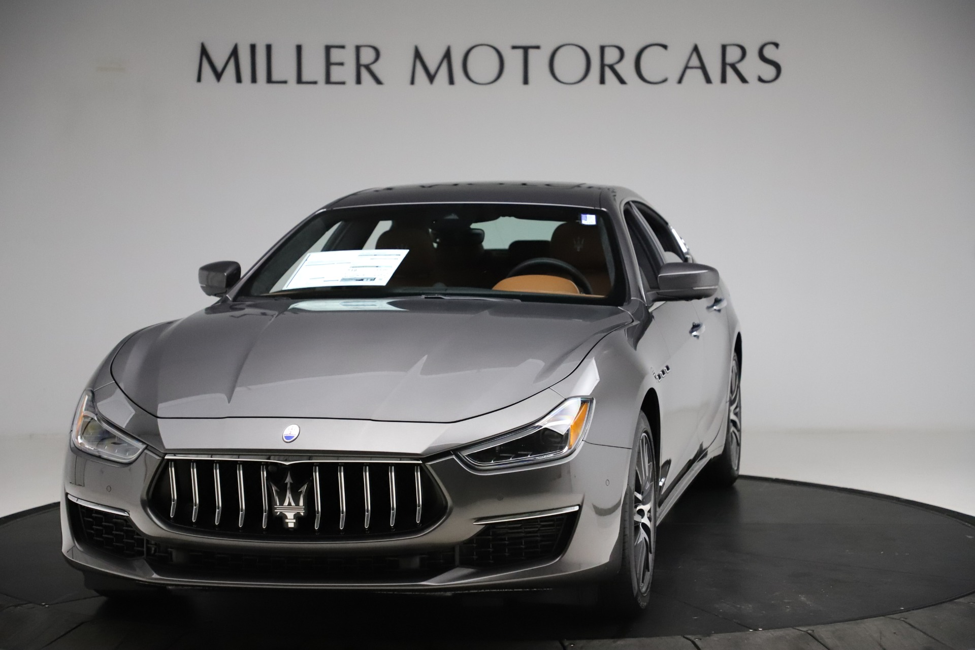 New 2021 Maserati Ghibli S Q4 GranLusso for sale Sold at Rolls-Royce Motor Cars Greenwich in Greenwich CT 06830 1