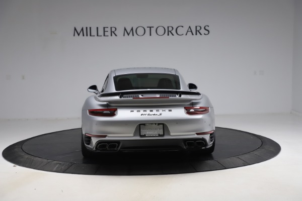 Used 2019 Porsche 911 Turbo S for sale $177,900 at Rolls-Royce Motor Cars Greenwich in Greenwich CT 06830 6