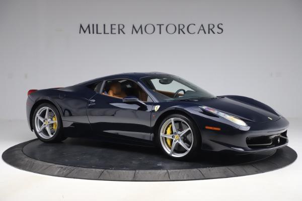 Used 2011 Ferrari 458 Italia for sale $179,900 at Rolls-Royce Motor Cars Greenwich in Greenwich CT 06830 10