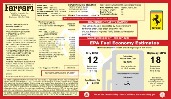 Used 2011 Ferrari 458 Italia for sale $179,900 at Rolls-Royce Motor Cars Greenwich in Greenwich CT 06830 20
